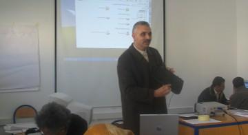 تكوينات في موضوع إدماج تكنولوجيا الإعلام والتواصل في المجال التربوي، في إطار برنامج جينيGenie